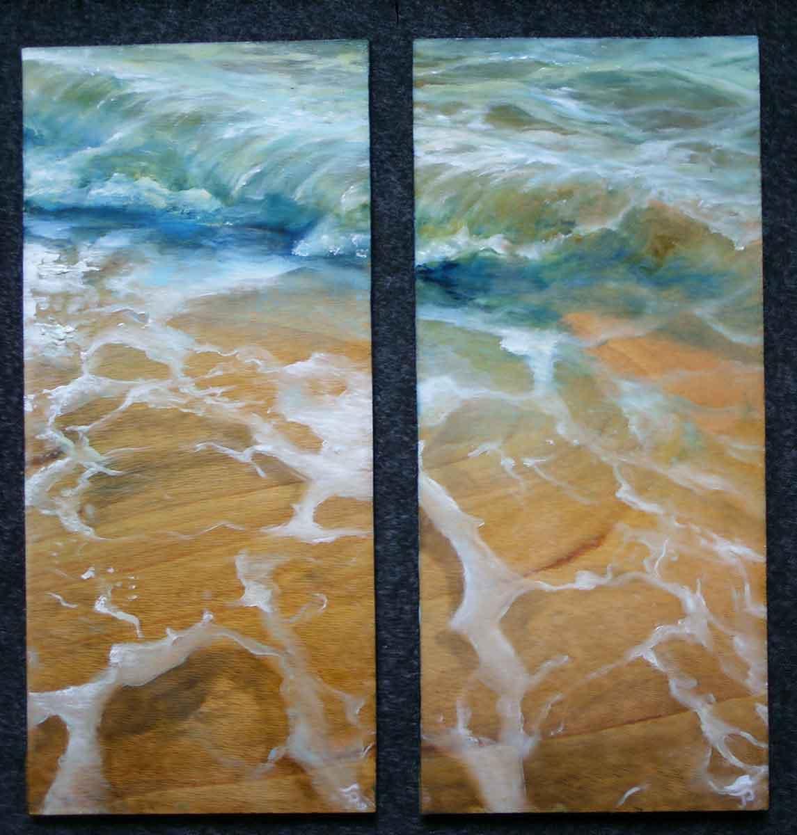 Strandstück-Diptychon